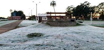 Nueve departamentos amanecieron con temperaturas bajo cero