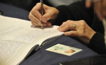 La Corte Electoral lleva un tercio de las firmas corroboradas