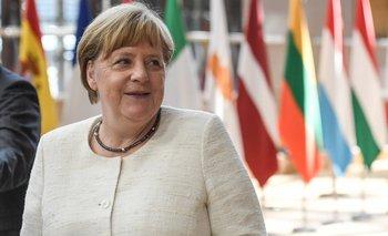 Angela Merkel, canciller alemana, impulsora fundamental del acuerdo Mercosur-UE