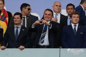 Bolsonaro, Domínguez y las selecciones de Conmebol esperan la decisión del Tribunal Supremo