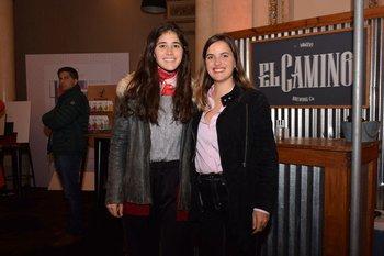 Sofia Inciarte y María Eugenia Elorza