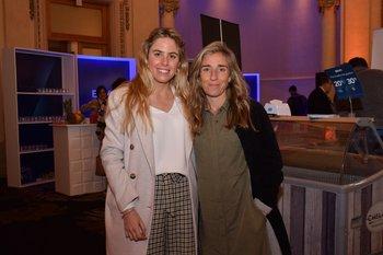 Fabiana Ciappesoni y Carolina Olague