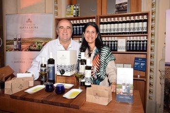 Gonzalo Aguirre y Laura Blanco
