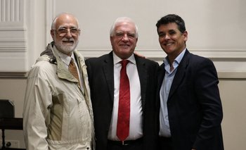 Jorge Gerhard, Carlos Varela y Ariel Fripp