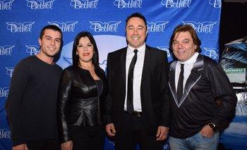 Juan Padin, Lourdes Rapali, Álvaro Padin y Álvaro Marchand
