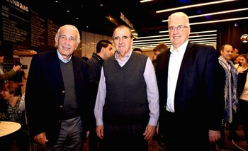 Alegre Sasson, Mario Galbarino y Mauricio Openhaimer INST