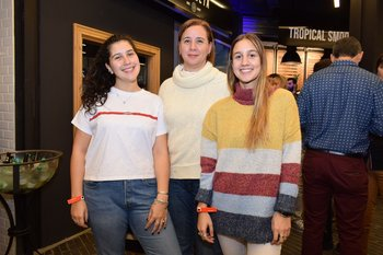 Lucia Gilart, Andrea Bruno y Dominique Gilard