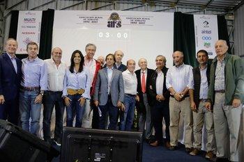 Los entonces precandidatos expusieron en la Expoactiva Nacional realizada en marzo de este año.