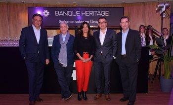 Diego Gandioli, Eduardo Lanza, Carolina Bellenda, Omar Ichuste y Pablo Muró