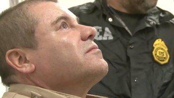 """""""El Chapo"""" fue sentenciado a cadena perpetua."""