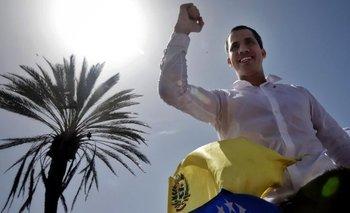 Hace seis meses que Guaidó se proclamó presidente encargado.