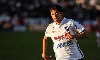 Nico López en su debut en Primera