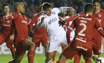 Gonzalo Bergessio ante la marca de Inter