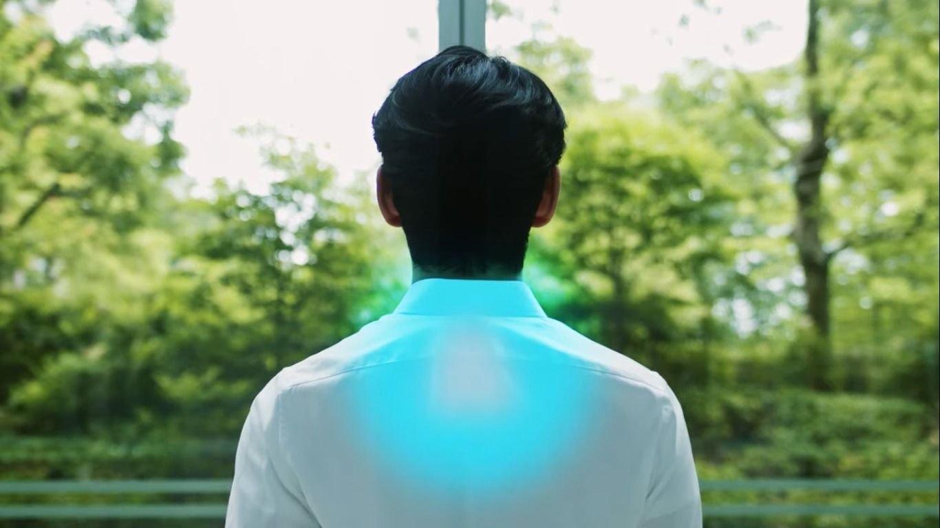 Así es la camiseta con aire acondicionado incorporado de Sony