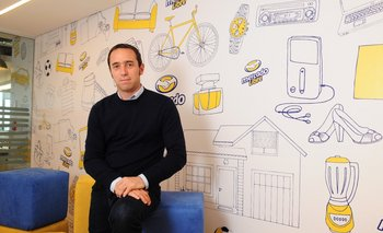 Marcos Galperín. Fundador y CEO de Mercado Libre.