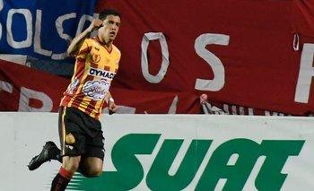 Rodrigo Viega anotó para Progreso