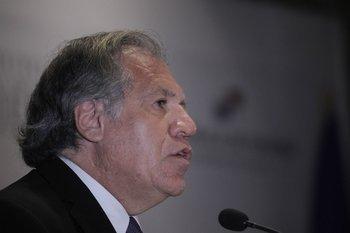 LuisAlmagro,secretario general de la Organización de los Estados Americanos (OEA)