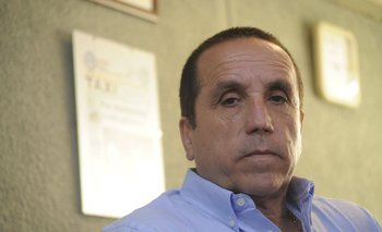 Oscar Dourado, presidente de la Gremial Única del Taxi