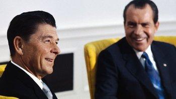 Reagan y Nixon tuvieron la conversación en octubre de 1971.