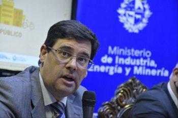 El director nacional de Energía, Fitzgerald Cantero.