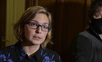 Micaela Melgar es diputada por el sector Casa Grande del Frente Amplio y fue directora del programa Calle del Mides