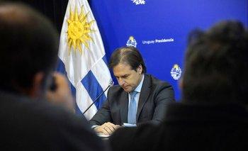 """Lacalle Pou dijo que el Mercosur """"no debe ser un lastre"""" y Fernández le contestó que Argentina no es """"lastre de nadie"""""""