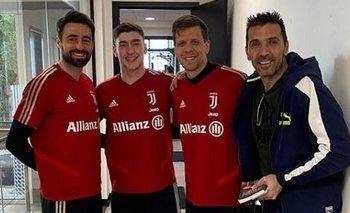 Pinsoglio, Israel, Szczesny y Buffon, arqueros de Juventus