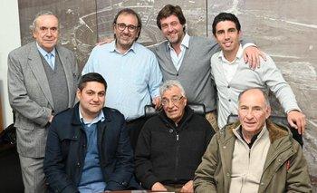Elías Zumar, Ignacio Alonso, Jorge Casales, Julián Moreno, Matías Pérez