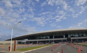 El Aeropuerto Internacional de Carrasco.