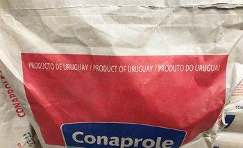 Leche en polvo entera, lo que más exporta Uruguay.