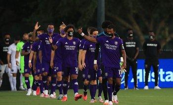 Jugadores de Orlando salieron con máscaras