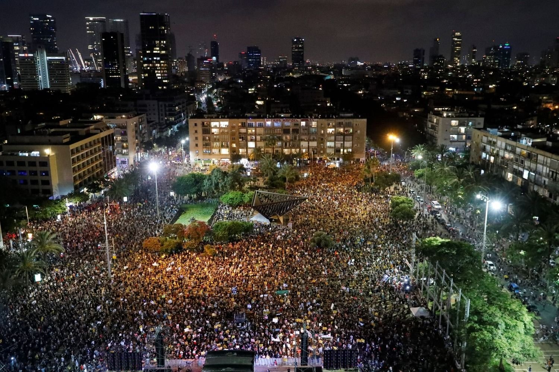 El viceministro israelí califica la manifestación de