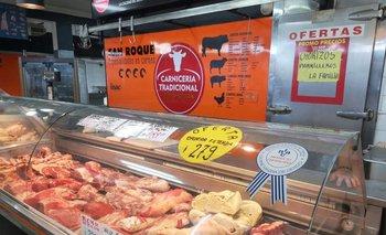 Detectan un rebote en el nivel de consumo de carnes, con un leve incremento.
