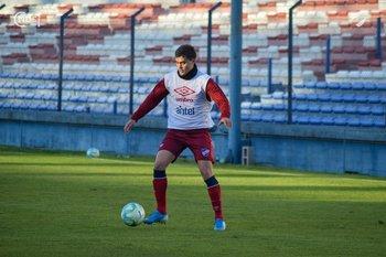 Agustín Oliveros fue el lateral izquierdo