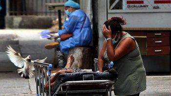 Algunos de los principales hospitales en Honduras han visto superada su capacidad ante el dramático aumento de casos de covid-19