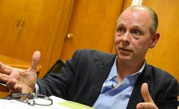 Hackenbruch durante la entrevista
