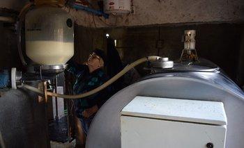 La producción de leche sigue aumentando.