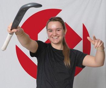 Oliveros es jugadora de Brabo Hockey