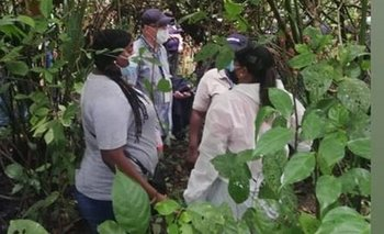 Los cuerpos sin vida de los jóvenes fueron encontrados en una zona boscosa a la orilla del lago Gatún