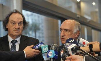 Eduardo Lust y Guillermo Domenech entregaron una carta en julio de 2020 en Torre Ejecutiva para pedir la destitución de Díaz