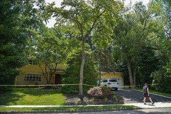 La casa de la jueza Salas, en Nueva Jersey, donde mataron a su hijo e hirieron a su esposo