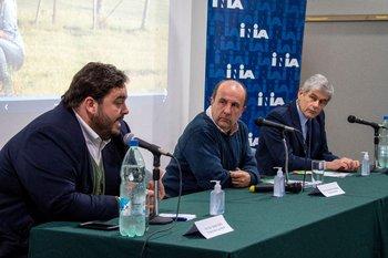 Juan Ignacio Buffa, Esteban Carriquiry y José Bonica .
