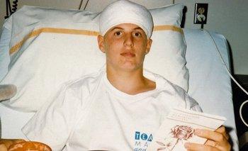 A Jeff le pronosticaron dos años de vida tras extirparle un tumor.