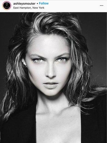 """La modelo Ashley Smouter aportó esta imagen a la campaña en Instagram """"reto aceptado"""""""