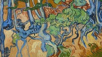 """""""Raíces de árboles"""" es probablemente la última obra que pintó Vincent Van Gogh"""