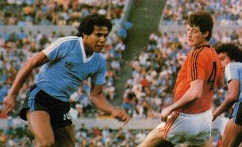 Ruben Paz en el Mundialito