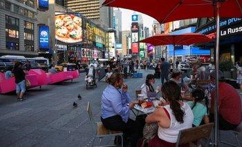 Las grandes ciudades de EEUU regresaron a su vida cotidiana