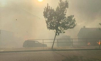 Lytton, a unos 260 kilómetros al noreste de Vancouver, se vio envuelto por las llamas