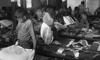 Las condiciones en que vivían estos niños eran atroces