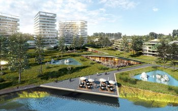 La inversión inicial en el proyecto será de unos US$ 80 millones para construir unas 500 viviendas.